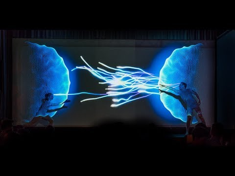 """Projection Mapping Dance - """"The Machine"""""""